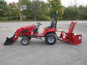 SAVE YOUR BACK, LET MASSEY DO THE WORK! Massey Ferguson 22hp