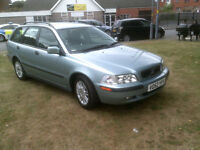 Volvo V40 1.8 2003MY S SPARES OR REPAIRS NO MOT