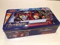 Avengers Jigsaw 150 piece puzzle Superhero Tin
