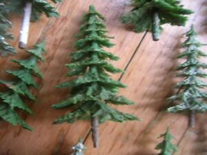 Lot of 50+ Vintage HO-scale N-scale Trees $30 firm