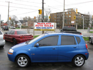 **2008 Chevrolet Aveo Hatchback** Certified & E-tested