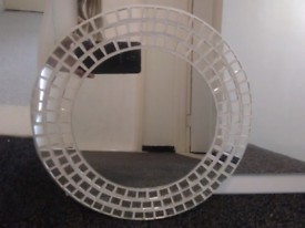 Circle Mosaic mirror like new
