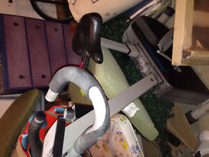 Home gym equipment, exercise cycle &stepper