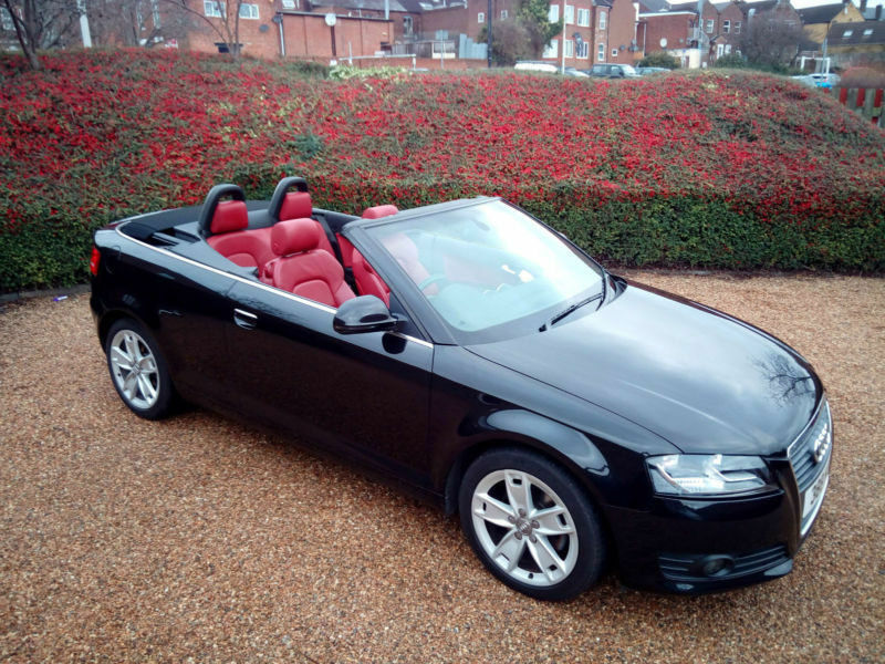 2010 audi a3 cabriolet 1 8tfsi s tronic sport turbo engine in bedford bedfordshire gumtree. Black Bedroom Furniture Sets. Home Design Ideas