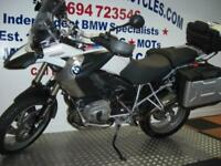 BMW R 1200-GS. FITTED FULL VARIO TOURING LUGGAGE & TOP BOX