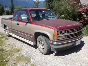 1989 GMC Sierra 1500 Half ton for Sale