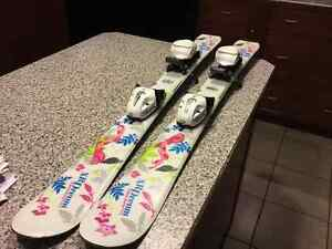 Tecno Pro XR Dream 90cm skis boots and bindings Junior Package