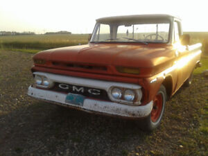 1965 GMC Vintage Truck. Decent Shape!