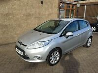 2010 FORD FIESTA 1.4 TDCI (60) £30 TAX, MOT AUGUST 17, FULL SERVICE HISTORY, WARRANTY £3495