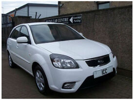 2010 60 REG KIA RIO 1.5 CRDi DOMINO DIESEL LTD EDITION 5DR 1 OWNER £30 TAX A/C