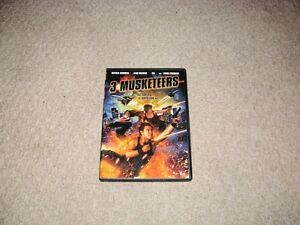 3 MUSKETEERS DVD FOR SALE!