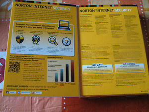 Norton Internet Security 3 ordinateurs 3 computers NEW!
