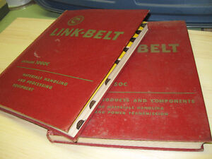 LINK BELT catalogs