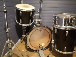 Yamaha drums with Premier snare