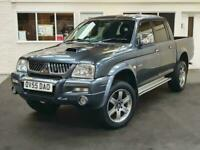 2005 Mitsubishi L200 2.5 TD Animal Crewcab Pickup 4WD 4dr Pickup Diesel Manual