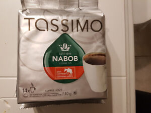 Three Full Packages Of Tassimo Nabob Coffee