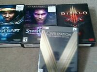 Blizzard Pack and Civ V Gold