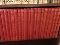 Full Collection of Arthur Mee's Children's Encyclopaedia, 10 volumes, 20 books 1963.