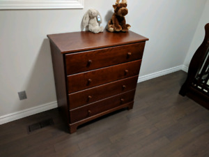 ***Baby crib, dresser and change table***