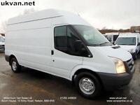 2011 61-REG FORD TRANSIT LWB, HIGH ROOF, FULL SERVICE HISTORY, 2.4 RWD, TIDY !