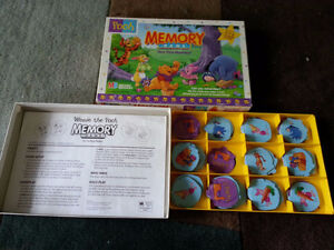 Winnie the Pooh-Memory Match + 2 Winnie Learning Card Games London Ontario image 2