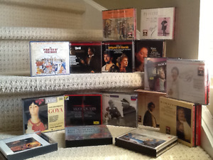 Full operas and Gregorian chant cd's excellent