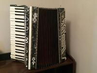 Broken accordion - prop/decoration/repair opportunity
