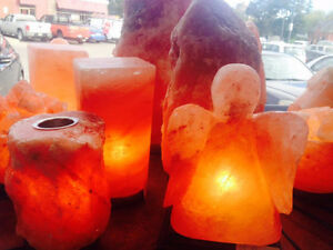Lot's of Salt Lamps $19.99 & up Buy 3 save 10%!