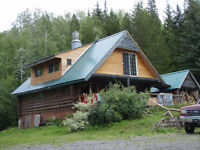 Log House, for rent,