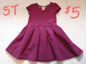 5T Girl Clothing