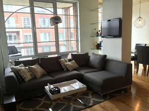 Fully Furnished Condo at Quai des Eclusiers w Garage - St Henri