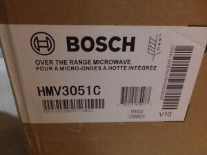 Bosch Over The Range Microwave 300
