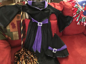 Girls Witch Halloween Costume Moose Jaw Regina Area image 1