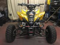 Yfz 450 50th anniversary road legal big spec