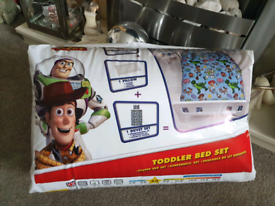 Toy story toddler bed sets