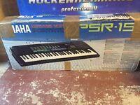 Keyboard Yamaha PSR-15 with stand, Ingleby Barwick