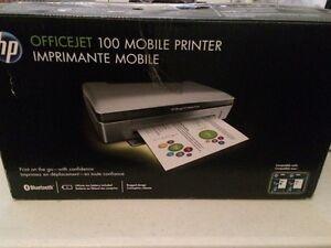 HP Officejet 100 mobile printer/Imprimante mobile HP OJ 100