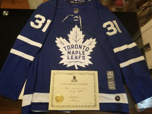 TML Signed Jersey - Frederik Andersen with COA
