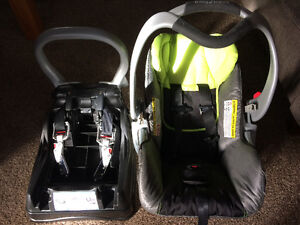 Baby trend car seat (travel system)