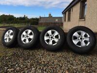 VW Amarok Alloy Wheels & Winter Tyres