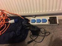 Electric hook up for camping and blow up camping beds SOLD
