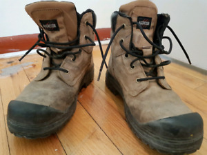 Steel toed boots size 12
