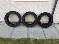 BMW 3 Series Run flat tyres