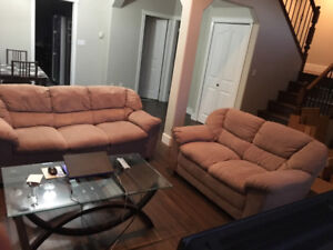 Sofa and love seat set - almost FREE