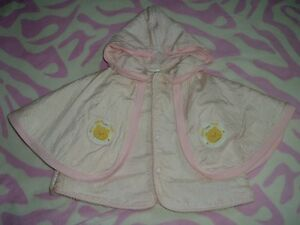 3T Girls --- Faux-Sherpa lined Hoodie Poncho