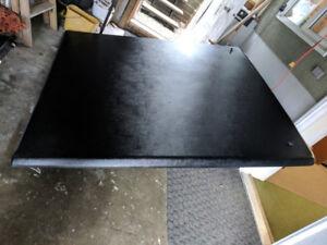 Hard fiberglass Tonneau cover from 2002 Chevy short box - new