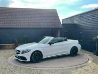 2018 Mercedes-Benz C Class 4.0 C63 V8 BiTurbo AMG S (Premium) Cabriolet SpdS MCT