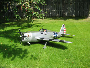 Modelteck P-47 Thunderbold  RC airplane