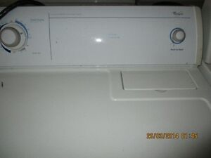 WHIRLPOOL ELECTRIC  DRYER VEWRY CLEAN