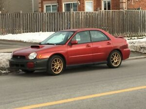 2003 Subaru wrx automatic READ ADD